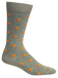 Brown Dog Hoisery- Peaches Lt Heather Grey