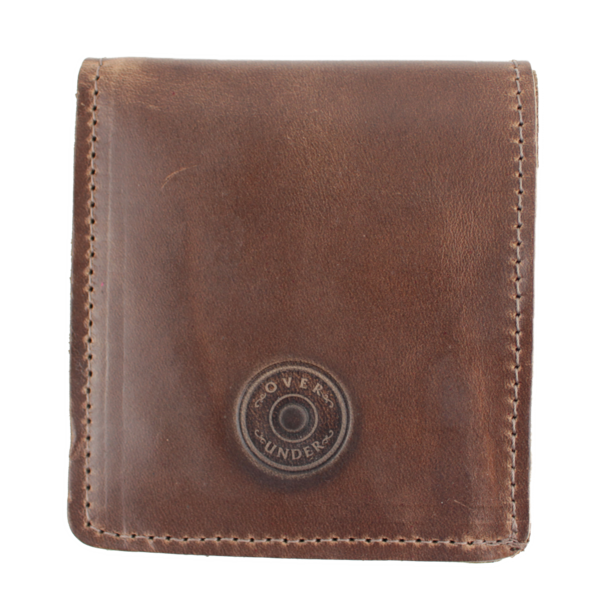 Over Under Horween Bi-Fold Wallet w/o Shot Shell