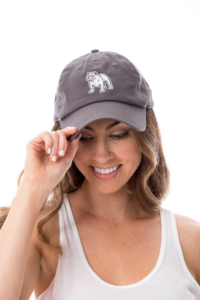Stewart Simmons Bulldog Hat- Grey