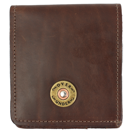 Over Under Horween Bi-Fold Wallet