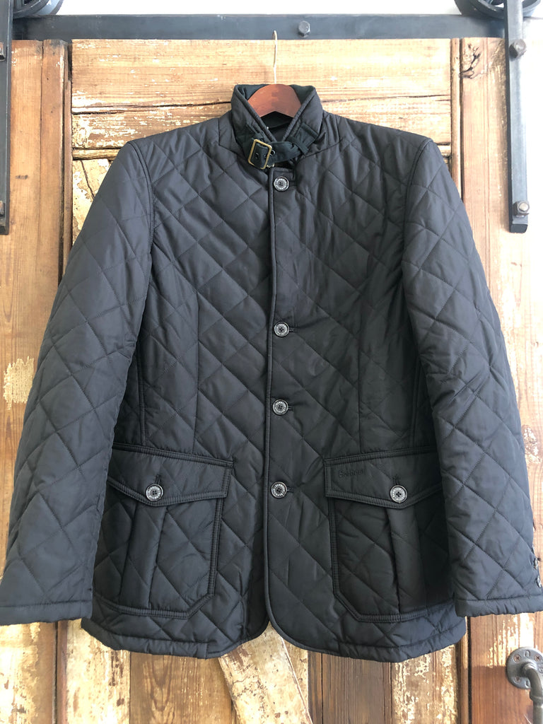 Barbour Quilted Lutz- Black