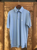 Southern Marsh Oakwood Performance Polo-French Blue/Navy