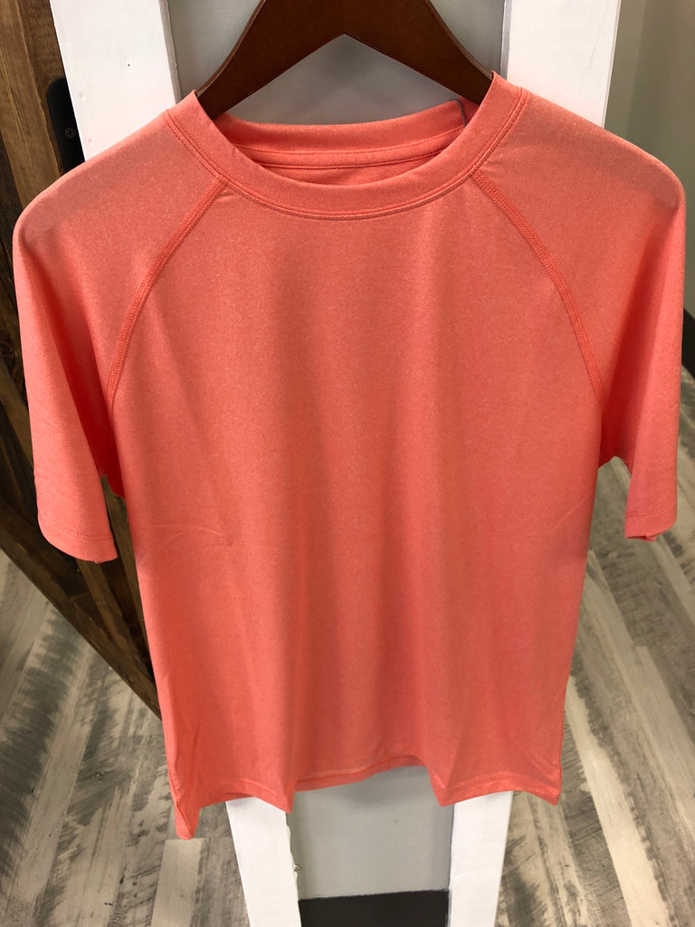Peter Millar Rio Tech Tshirt Orange