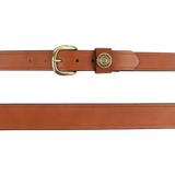 Over Under Single Shot Belt- London Tan