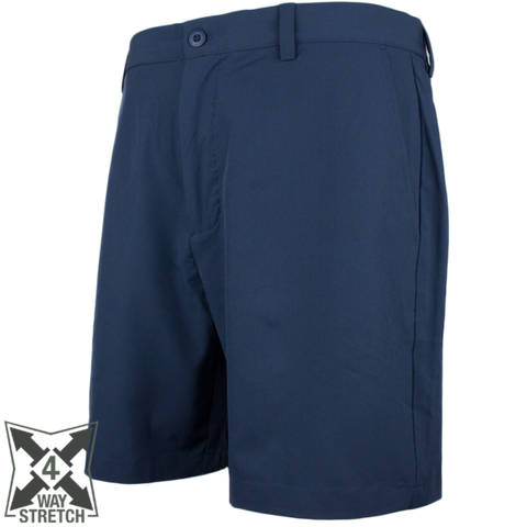 Over Under Cross Current Performance Short- Navy
