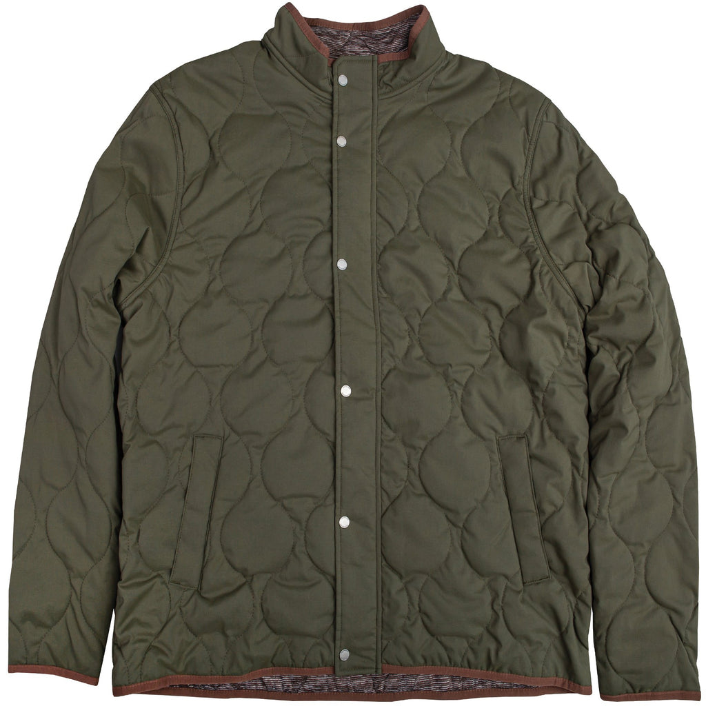 Onward Reserve Candler Quilted Coat- Olive