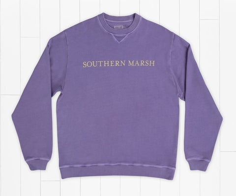 Southern Marsh Seawash Sweatshirt- Wharf Purple