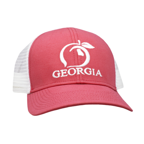 Peach State Pride Trucker Hat YOUTH