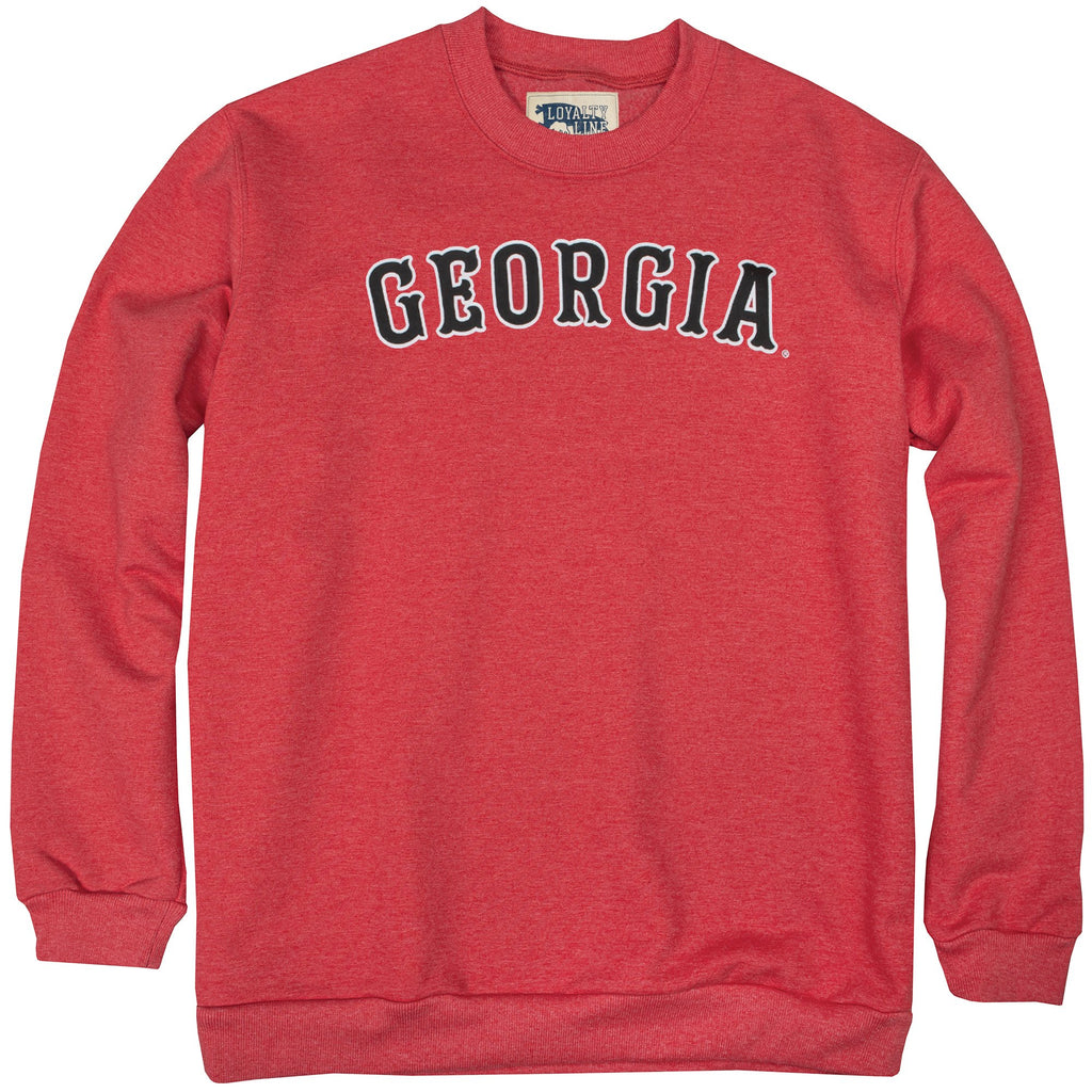 Onward Reserve Georgia Crewneck- Red