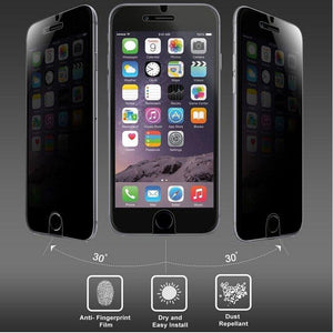 Anti-Spy Tempered Glass for iPhone