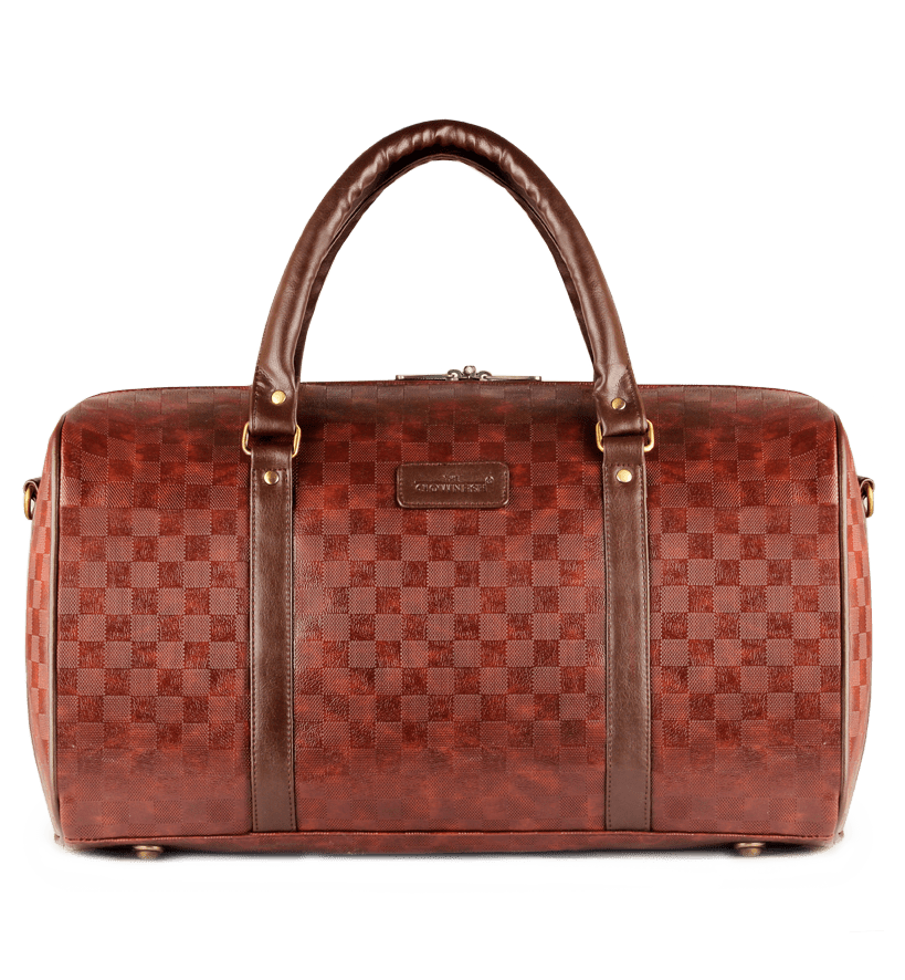 Checkers Travel Bag