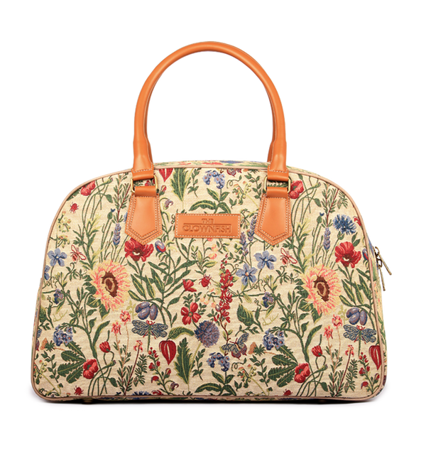 Flora fabric Duffle bag