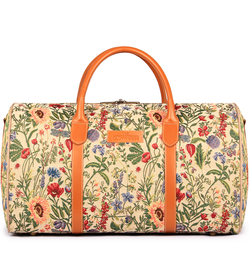 Blomster fabric Duffle bag