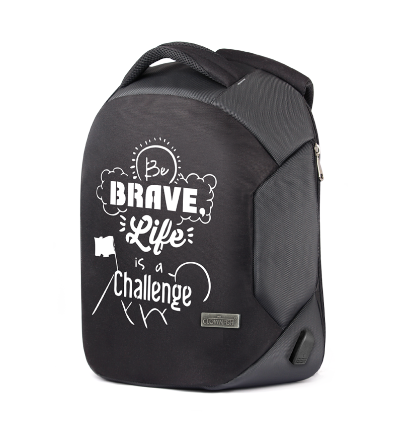 Be Brave anti theft Backpack