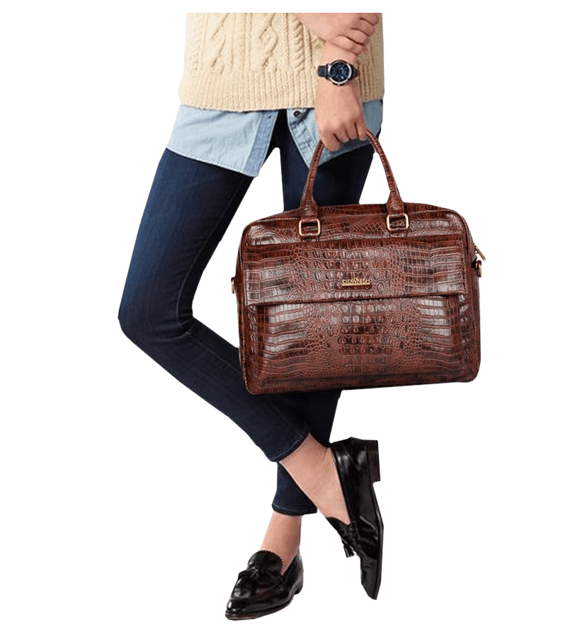 Crocodilan Laptop Bag