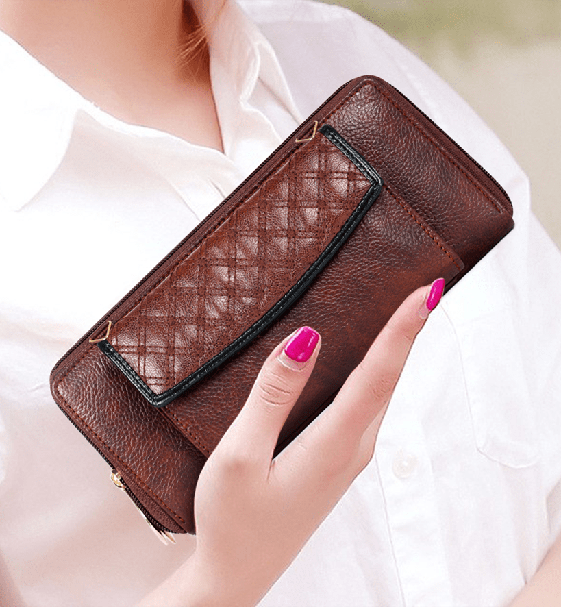 Diamond lady wallet