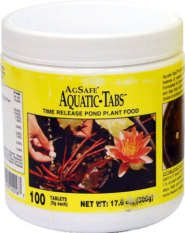 Plant Food: aquatic tabs (25 or 100 bag/jar)