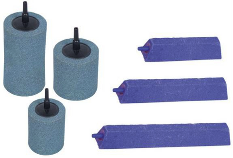 Air Stones for air pumps - cylindrical or disc