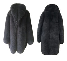 Load image into Gallery viewer, Mens Fox Fur Coat, Real Fur, Genuine Fox Fur.