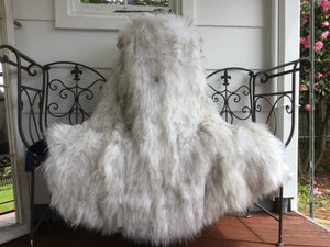 Knitted Raccoon Fur Vest, Sleeveless Vest, Real Fur Gilet.