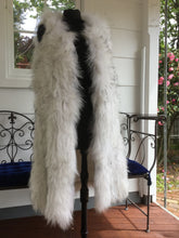 Load image into Gallery viewer, Knitted Raccoon Fur Vest, Sleeveless Vest, Real Fur Gilet.
