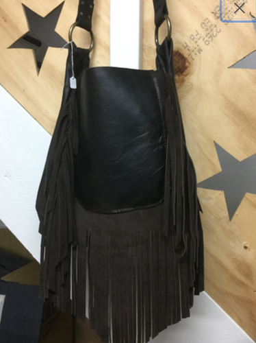 Cowhide Leather Bag.