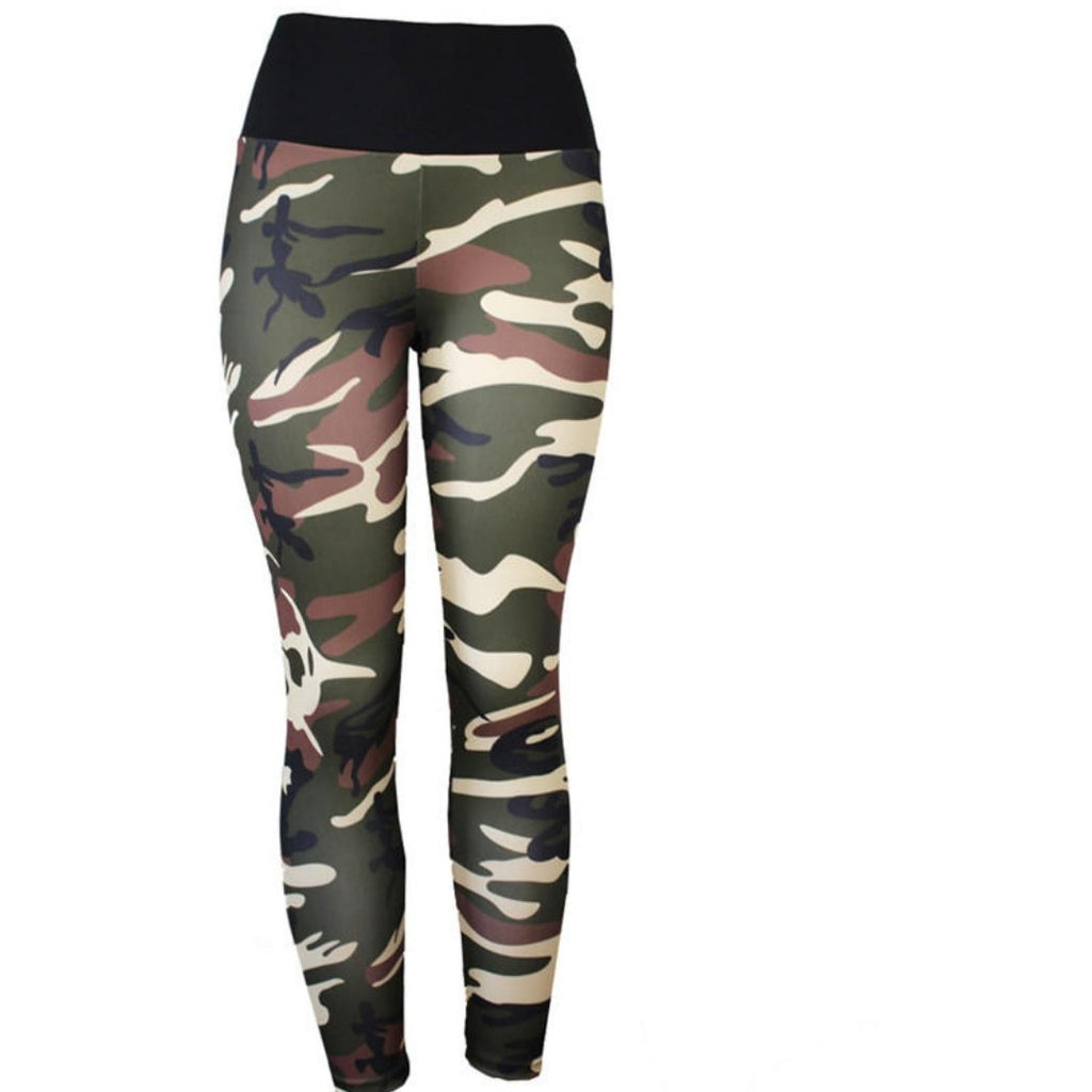 Camo gym wear  Leggings,   (Jen)