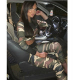 Camouflage Womens Sportwear, Yoga Leggings and Top  (Jen)
