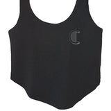 Ladies Black Vest Top (Comfort Range)
