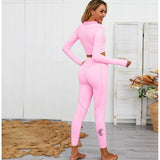 Long Sleeve Pink Activewear set (Demi)