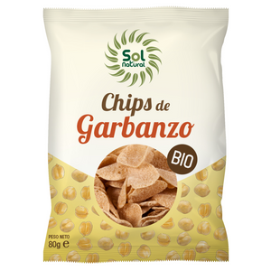 Chips de Garbanzo BIO 80gr