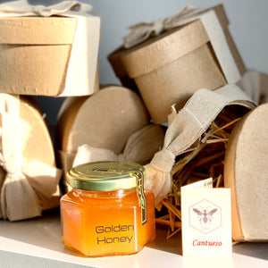 Miel de abeja Monofloral. Golden Honey. 140gr.