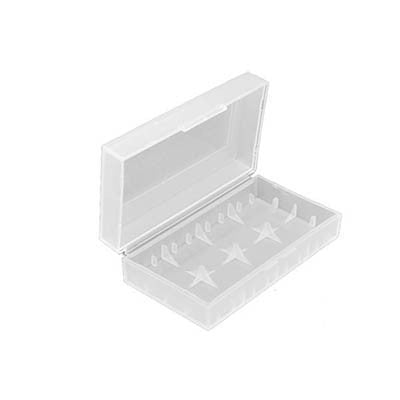 Clear 26650x2 battery/18650x4 Case
