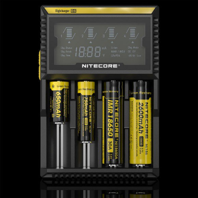 Nitecore Digi D4 battery charger