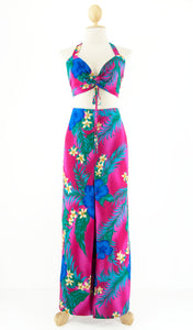 Bra Top and Long Sarong Pant Set