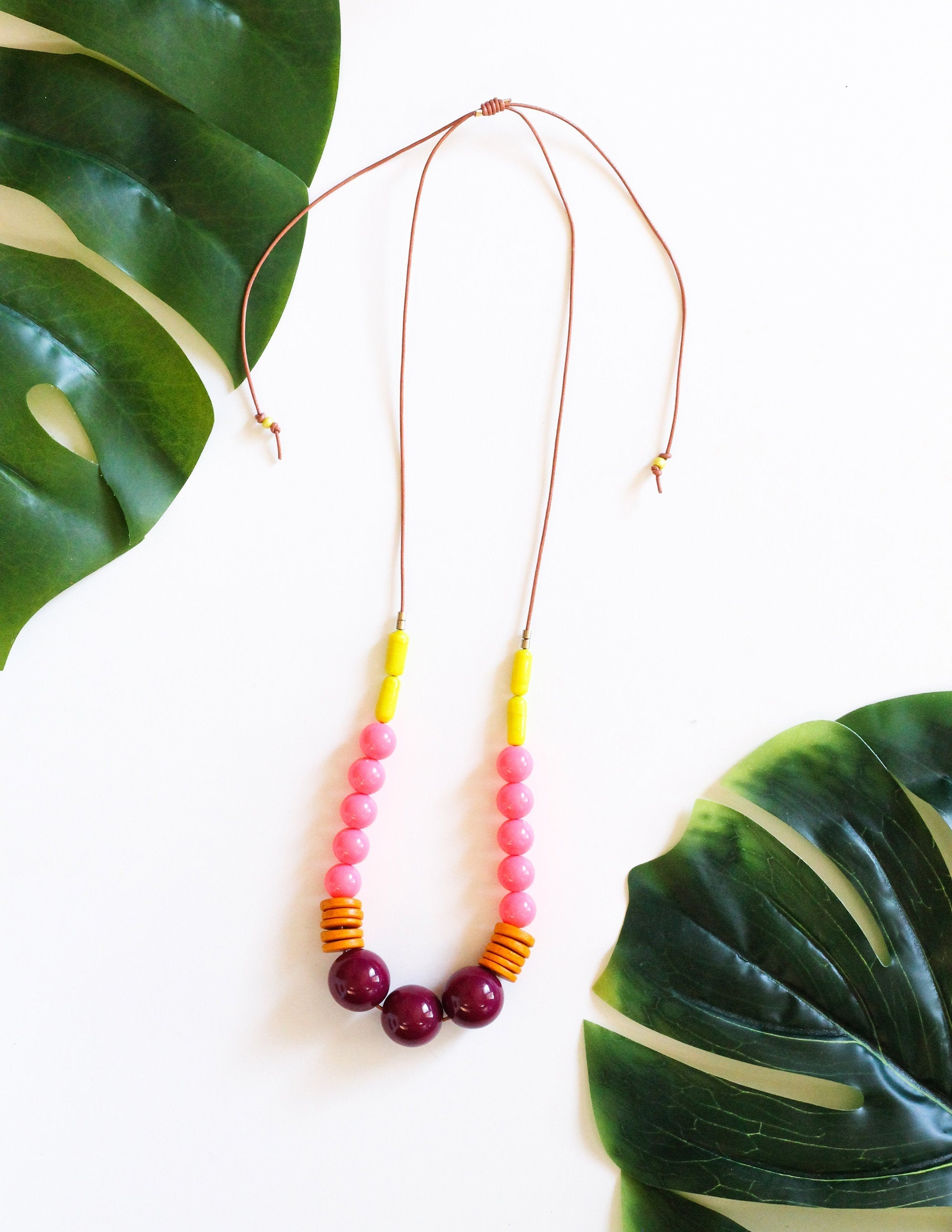Tropical Pink Necklace