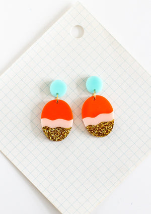 statement earrings by Little Bright Studio