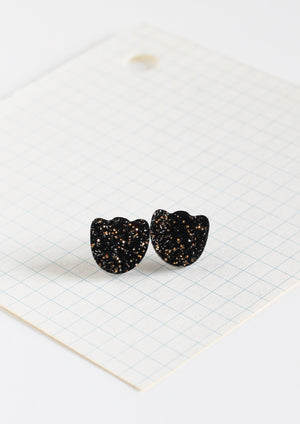 flower shaped acrylic earrings studs by Yes To Polka Dots