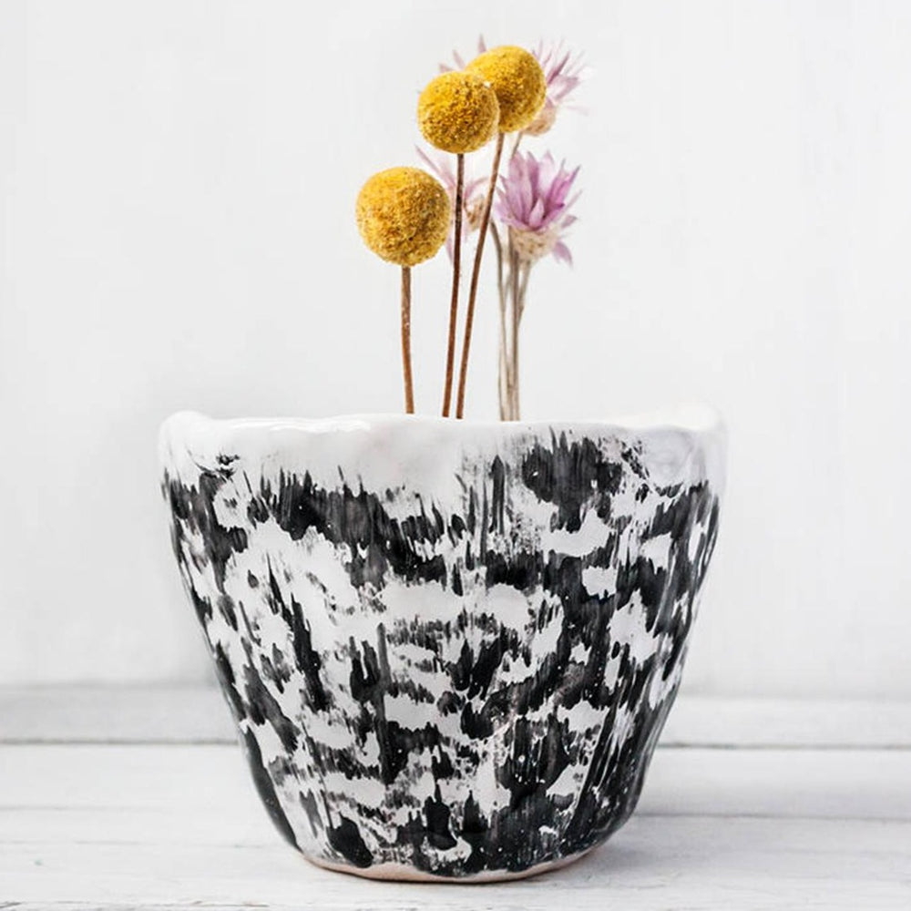 Load image into Gallery viewer, ceramic floral vase