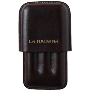 Load image into Gallery viewer, brown leather cigar holder