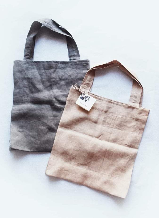 handmade reusable shopping bag