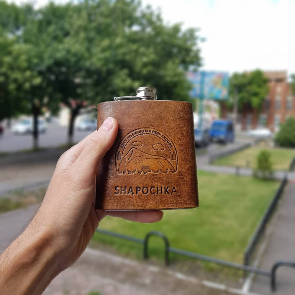 Handcrafted Leather Flask