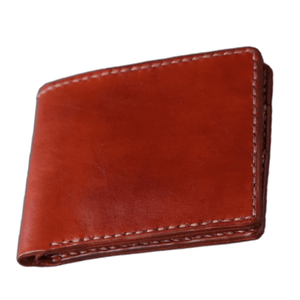 personalized leather wallet for men