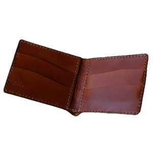 handmade brown wallet for him