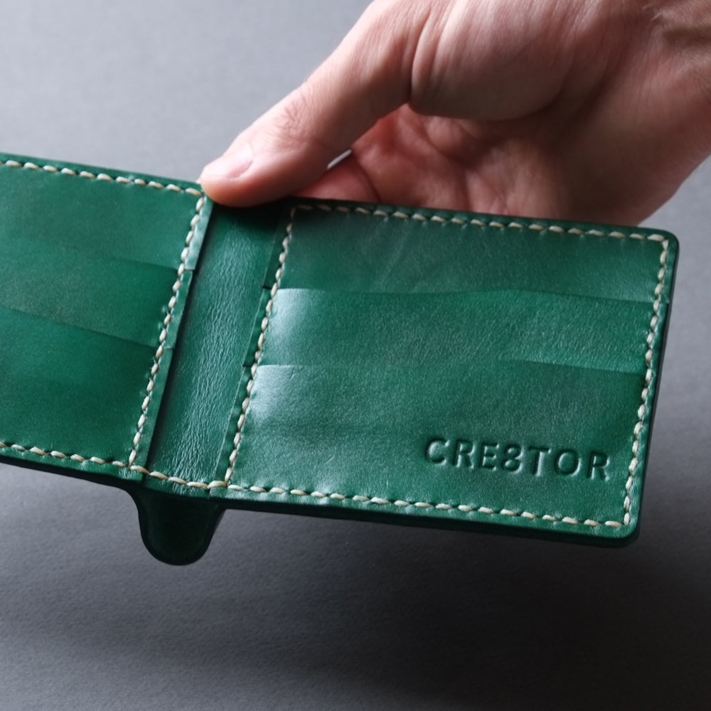 BIFOLD WALLET  /  GREEN