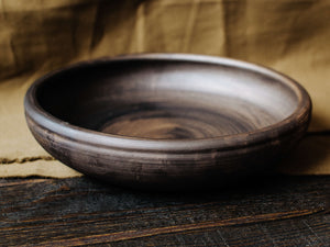 CLAY PLATE FOR SALADS AND BAKING