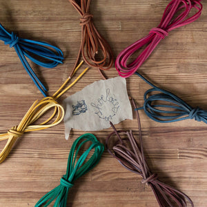 leather shoe laces for boots