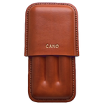 leather case for three cigar