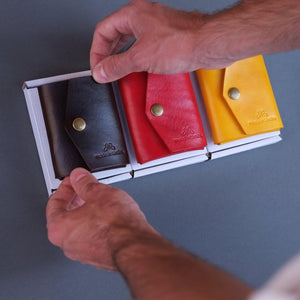Load image into Gallery viewer, custom handmade leather wallets
