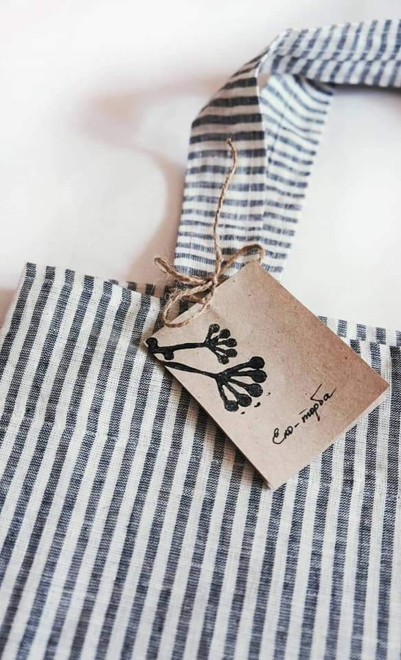 Organic Linen Shopping Bag